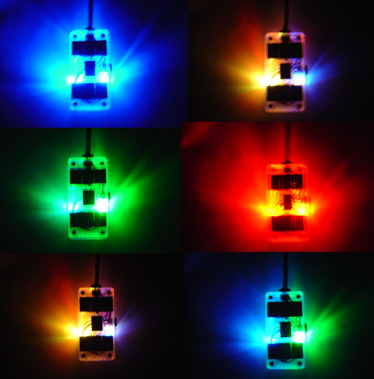 AVS ARC-7-CM Color Morphing 7 Switch Box Rocker Switch 4