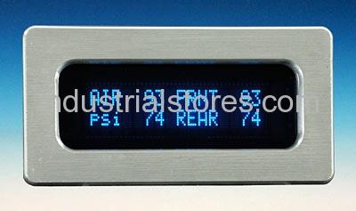 Dakota Digital ODY-19-4-5-HP with 5 400 psi senders rectangular display