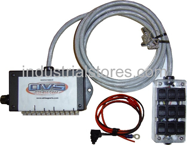 AVS ARC-9-LED LED D isplay 9 Switch Box Rocker Switch 4