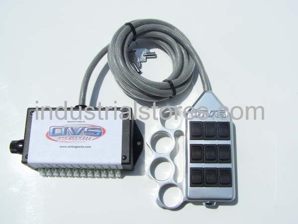 AVS ARC-9-KN-UP Knucke Up 9 Switch Box Rocker Switch 4