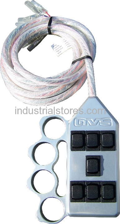 AVS ARC-7-KN-UP Knucke Up 7 Switch Box Rocker Switch 4