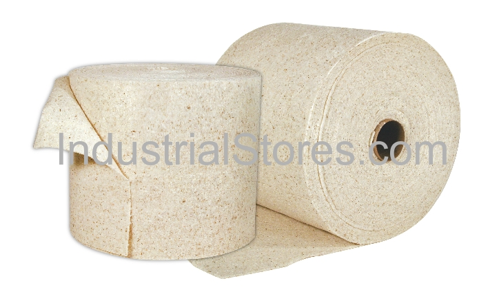 Sellars 83460 EconoDuty White Sorbent Split Roll (Oil Only) (2/Case)