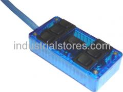AVS ARC-7-BU Blue 7 Switch Box Rocker Switch 4