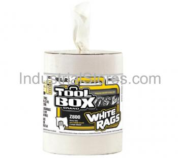 Sellars 80221 TOOLBOX Z800 Refill White Rags 190CT (6/Case)