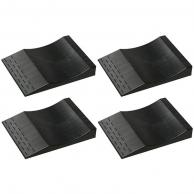 MAXSA 37353 Park Right(R) Flat-Free Tire Ramps, 4 pk