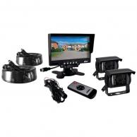"PYLE PLCMTR72 7"" Commercial-Grade Weatherproof Backup Cameras & Monitor System"
