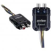 Axxess AX-MLOC725 Mini 2-Channel Line-Output Converter (150 Watts)
