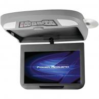 "POWER ACOUSTIK PMD-102X 10.2"" Ceiling-Mount Swivel Monitor with DVD Player, IR & FM Transmitters & Interchangeable Skins"